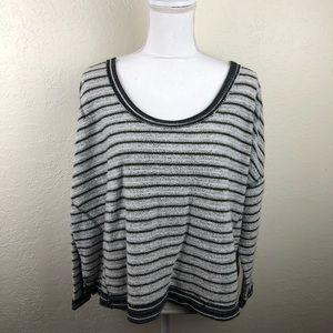 Free People Inside Out Crewneck Pullover